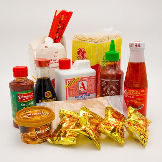Mr. Hot-Wok Asiatische Starterbox Asiatisches Essen Paket